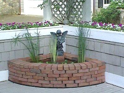 Мини-пруды в саду своими руками